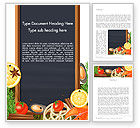 Food & Beverage: Delicacy Word Template #13821