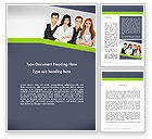 People: Young People Illustration Word Template #13845