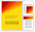 Abstract/Textures: Gradient Yellow to Red Word Template #13849