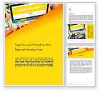 Careers/Industry: Web Design Services Word Template #13884