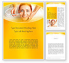 Medical: Medical Skin Care Word Template #13910