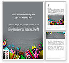 Education & Training: Back-to-School Strategy Word Template #13918