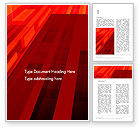 Abstract/Textures: Red Tendens Abstract Word Template #13927