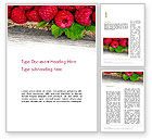 Agriculture and Animals: Red Raspberry Word Template #13938