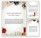 Careers/Industry: Preparing for Vacation Word Template #13948