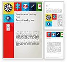 Careers/Industry: Gambling Theme Word Template #13953