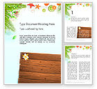Holiday/Special Occasion: Tropical Holidays Word Template #13962