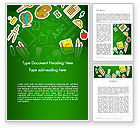 Education & Training: Educational Stuff Word Template #13984