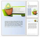 Holiday/Special Occasion: Birthday Banner Word Template #13992