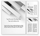 Abstract/Textures: White Rectangular Strips Word Template #14001