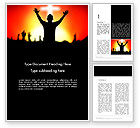 Religious/Spiritual: Christian Counseling Word Template #14003