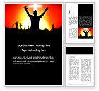 Religious/Spiritual: Modello Word - Consulenza cristiana #14003