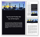 Utilities/Industrial: Industry Landscape Word Template #14014