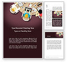 Business: Working on Presentation Word Template #14025