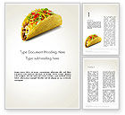 Food & Beverage: Meal on the Go Word Template #14035