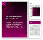 Abstract/Textures: Diagonal Dots Abstract Word Template #14040