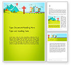 Careers/Industry: Traveling the Countryside Word Template #14057