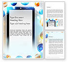 Careers/Industry: Conceptual Social Networking Word Template #14064