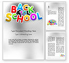 Education & Training: Welcome Back To School Word Template #14097