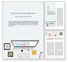 Careers/Industry: Modèle Word de création d'une page web #14127