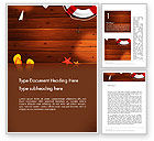 Holiday/Special Occasion: Beach Vacation Word Template #14128