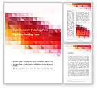 Abstract/Textures: Heat Map Abstract Word Template #14169