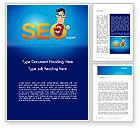 Careers/Industry: SEO Expert Word Template #14181