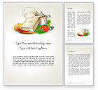 Careers/Industry: Cookbook Word Template #14209