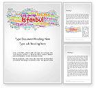 Flags/International: Modelo do Word - turco cidades palavra nuvem #14228