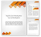 Business Concepts: Four Options Word Template #14229