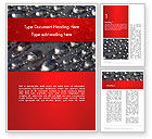 Abstract/Textures: Water Drops on Metal Surface Word Template #14260