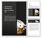 Art & Entertainment: Gambling Word Template #14278