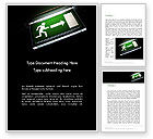Careers/Industry: Emergency Lighting Word Template #14289