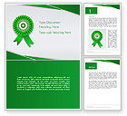 Education & Training: Certificate of Achievement Word Template #14291
