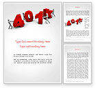 Financial/Accounting: 401k Word Template #14303