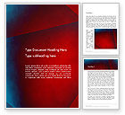 Abstract/Textures: Dark Red Layered Background Abstract Word Template #14337