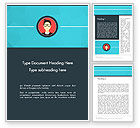 Careers/Industry: Business Card Word Template #14353