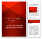Abstract/Textures: Triangular Abstract Word Template #14362