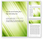 Abstract/Textures: Green Giagonal Motion Blur Abstract Word Template #14369