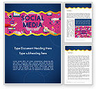 Careers/Industry: Social Media Technology Innovation Concept Word Template #14370