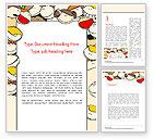 Education & Training: Frame with Funny Kids Word Template #14415