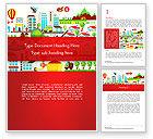 Nature & Environment: Modello Word - Ecologia sfondo colorato infografica #14432