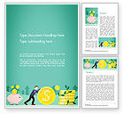 Financial/Accounting: 워드 템플릿 - 투자 개념 #14469