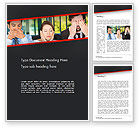 Business Concepts: Communication Problem Word Template #14473