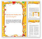 Holiday/Special Occasion: Baby's Photo Frame Word Template #14481