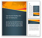 Global: Stylish Brochure Cover Business Word Template #14517