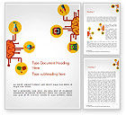 Business Concepts: Creative Brainstorming Word Template #14554