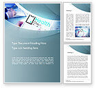 Business Concepts: Health Check Diagnosis Concept Word Template #14574