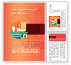 Careers/Industry: Modèle Word de home services de plomberie #14588