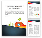 Financial/Accounting: Money Safety Word Template #14597